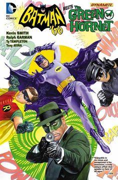 Batman '66 Meets the Green Hornet Hardcover - SIGNED