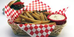 Crisp French Fries with Mustard Mayonnaise