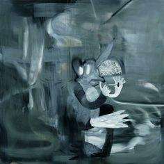 Albert Oehlen, Frau Zen, 2008, Öl, Papier auf Leinwand, Sammlung Rudolf und Ute Scharpff