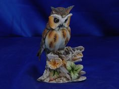Birds of Capodimonte of high artistic value. Porcelain subject signed by the artist Tommaso Arena.
