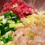 Gyoza: fantastici ravioli giapponesi ripieni con gamberi e verdura.