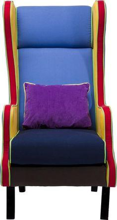 Fauteuil Bicolore Multi Wing is een kekke stoel uit de collectie van Kare Design en is nu verkrijgbaar bij Furnies.nl voor €398,- !