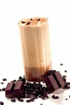 Chocolate Iced Coffee Frappe #café #frappe #cafeessentials