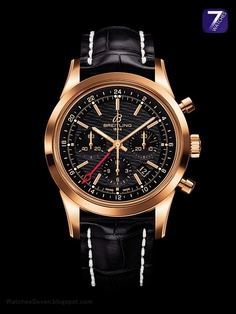 BREITLING - Transocean Chronograph GMT Limited Edition