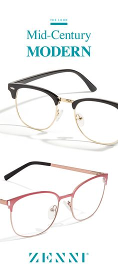 For retro cool style in a jiffy, just add browline glasses or sunglasses to your look. Move over Mad Men - making mid-century modern. Shop our totally smart and totally cool browline glasses and sunglasses! Cool Glasses, Mens Glasses, Glasses Frames, Mad Men, Style Me, Cool Style, Fashion Eye Glasses, Roger Vivier, Retro