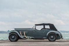 Rare collection of stunning motor cars achieve incredible prices at Bonhams. 1937 Lagonda 4½-Litre LG45 Rapide Tourer