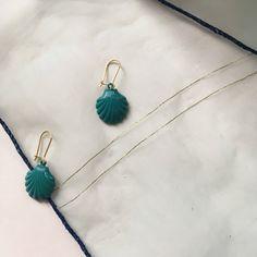CONFETTY @ #etsy: Little Shell Earrings