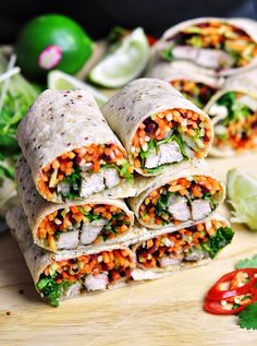 Banh Mi Wrap (Inspired by the popular Vietnamese Roll)