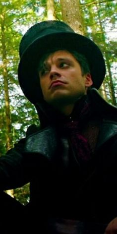 Mad Hatter- Once Upon A Time being adorable as always.
