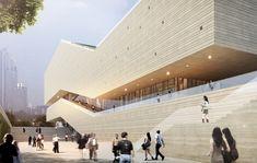 gmp Architekten Wins Competition to Design Guangzhou City Museum,© gmp Architekten