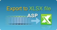 Export data to XLSX Excel file in ASP classic by EasyXLS component! Excel spreadsheets in ASP classic. #EasyXLS #Export #XLSX #Excel #ASP Filing, Classic, Tutorials, Derby, Classic Books, Wizards
