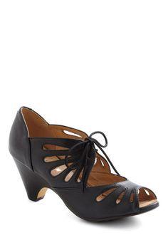A unique shoe! Love the vintage appeal
