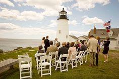 Pemaquid Point Lighthouse Wedding