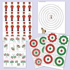 Legyetek igazi huszárok! Készítsetek lovacskát, amire felülve már mondogathatjátok is a lovagoltató mondókákat, dalokat! Építsetek várat, játsszatok vár-védőset, aztán pihenésképpen oldjátok meg a nyomtatható feladatlapokat! Spring Crafts, Paper Cutting, Advent Calendar, Kindergarten, Crafts For Kids, Folk, Projects To Try, Holiday Decor, Diy