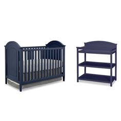 Imagio Baby by Westwood Designs Chatham 3-in-1 Crib and Changing Table Set in Navy - www.buybuyBaby.com
