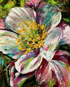 abstract art paintings flowers   columbine1.jpg