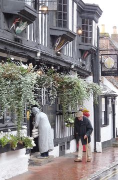 England Travel Inspiration - the cute little village of Alfriston in East Sussex; home to the National Trust property, Alfriston Clergy House...one of England's most famous historic buildings. East Sussex is a beautiful county and should be added to your list of places to visit in the United Kingdom...from pretty churches to stunning countryside. Click to see more beautiful photos of the UK.