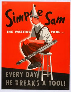 Simple Sam the Wasting Fool (RCA Radio Corp of America)