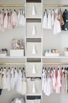 Project Nursery Diy Closet Interior View Budget Ideas