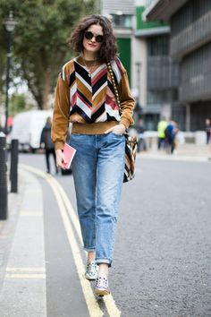 Los mejores 'looks' a pie de calle en London Fashion Week.