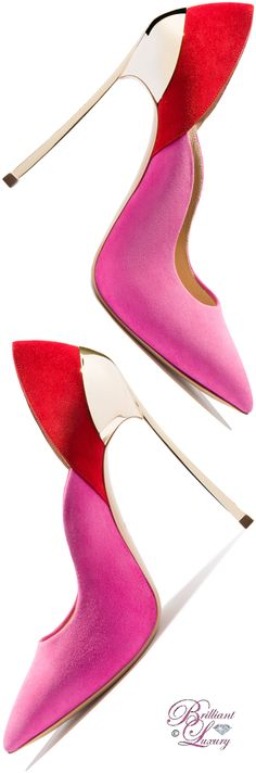 Brilliant Luxury by Emmy DE ♦ Casadei Techno 'Blade' Pump