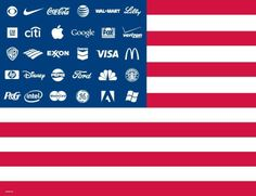 """""""What's wrong is a system completely controlled by a corporate-financier oligarchy with financial, media, and industrial empires that span the globe. Culture Jamming, Truth To Power, Big Oil, Corporate America, Corporate Social Responsibility, Branding, Thing 1, Declaration Of Independence, Declare Independence"""