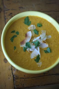 Roasted Carrot Red Curry Soup from Big Girls Small Kitchen