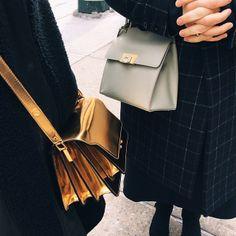 Marni and Balenciaga handbags spotted at #NYFW. MATCHESFASHION.COM #MATCHESFASHION