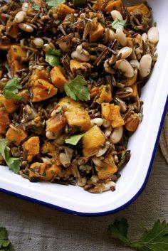 Wild Rice & Roasted Butternut Salad