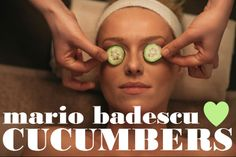 What can Cucumbers do for your skin? You might be surprised!