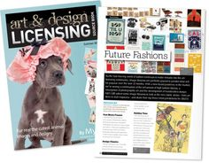 Advocate Art featured in Art and Design Licensing Sourcebook