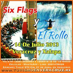 #SixFlags y #ElRollo te esperan este #verano saliendo de #Veracruz y #Xalapa http://www.turismoenveracruz.mx/2013/03/vamos-a-six-flags-y-el-rollo-este-13-de-julio-2013-saliendo-de-veracruz-y-xalapa/ #Mexico