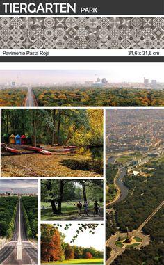 Parques del mundo l #CulturaDeco #VivesAzulejosyGres l Tiergarten Park, Berlin