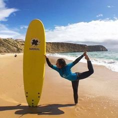 #Surf and #yoga holiday in Algarve