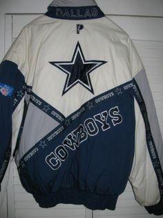 DALLAS COWBOYS TEAM NFL PRO PLAYER JACKET