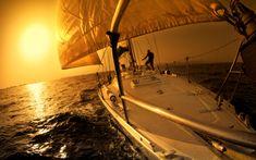 desktop wallpapers free Yacht