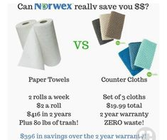 Imagine if you never had to buy paper towels again ! Think of all the money you will save by spending $19.99 !
