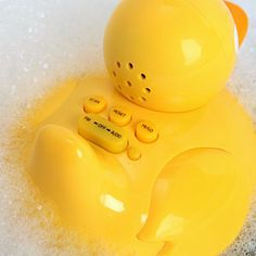 iDucky: Listen to your iPod while in the tub.