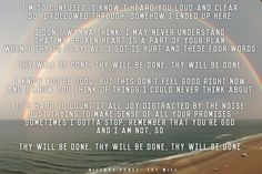 Thy Will by Hillary Scott