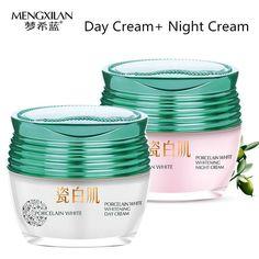 Rose hip day creams+Wheat germ night creams face care treatment whitening cream skin care Acne Pimples Moisturizing Anti Winkles