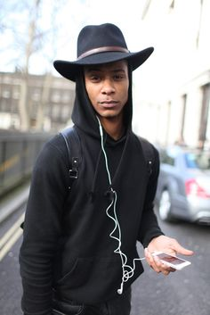 London Men's Fashion Week street style. [Photo by Kuba Dabrowski]