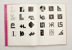 048.jpg (1600×1130)  TRADE MARKS & SIMBOLS Volume 1: Alphabetical Designs | YASABURO KUWAYAMA #logo #design #Inspiration #graphic #shape #best #awesome #typography #best #pactice