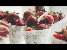 Indulge in Godiva's finest dipped strawberries this @Wimbledon​, grown by our handpicked British farms they are the perfect match!