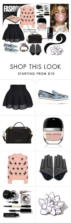 """Fashion bubble"" by trendhelden on Polyvore featuring Mode, STELLA McCARTNEY, Ted Baker, Marc Jacobs, Acne Studios, Ettika, Bobbi Brown Cosmetics, Garance Doré und PINTRILL"
