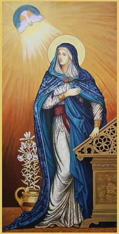 Icons and paintings of Mary
