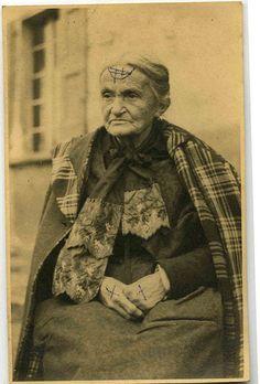 """Donne della Bassa. """" The witch (la Stariona)"""" ....in the collection of Giuseppe Savini"""