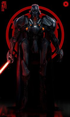 """cyberclays: """" Metal Head 08 - Star Wars fan art by jarold Sng More Metal Heads by jarold Sng on my tumblr [here] More Star Wars imagined characters on my tumblr [here] """""""