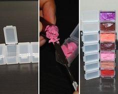 Lipstick Pill Box - My most beautiful makeup list Makeup List, Best Makeup Tips, Best Makeup Products, Makeup Hacks, Makeup Tools, Makeup Ideas, Diy Lipstick, Lipstick Tube, Blue Coffin Nails