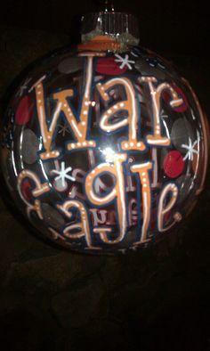 WAR EAGLE!!!! Ornament  $25