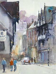 Eastgate House, Rochester by Christopher Jarvis  #christopherjarvis #contemporaryart #artgallery  Copyright remains with the artist.